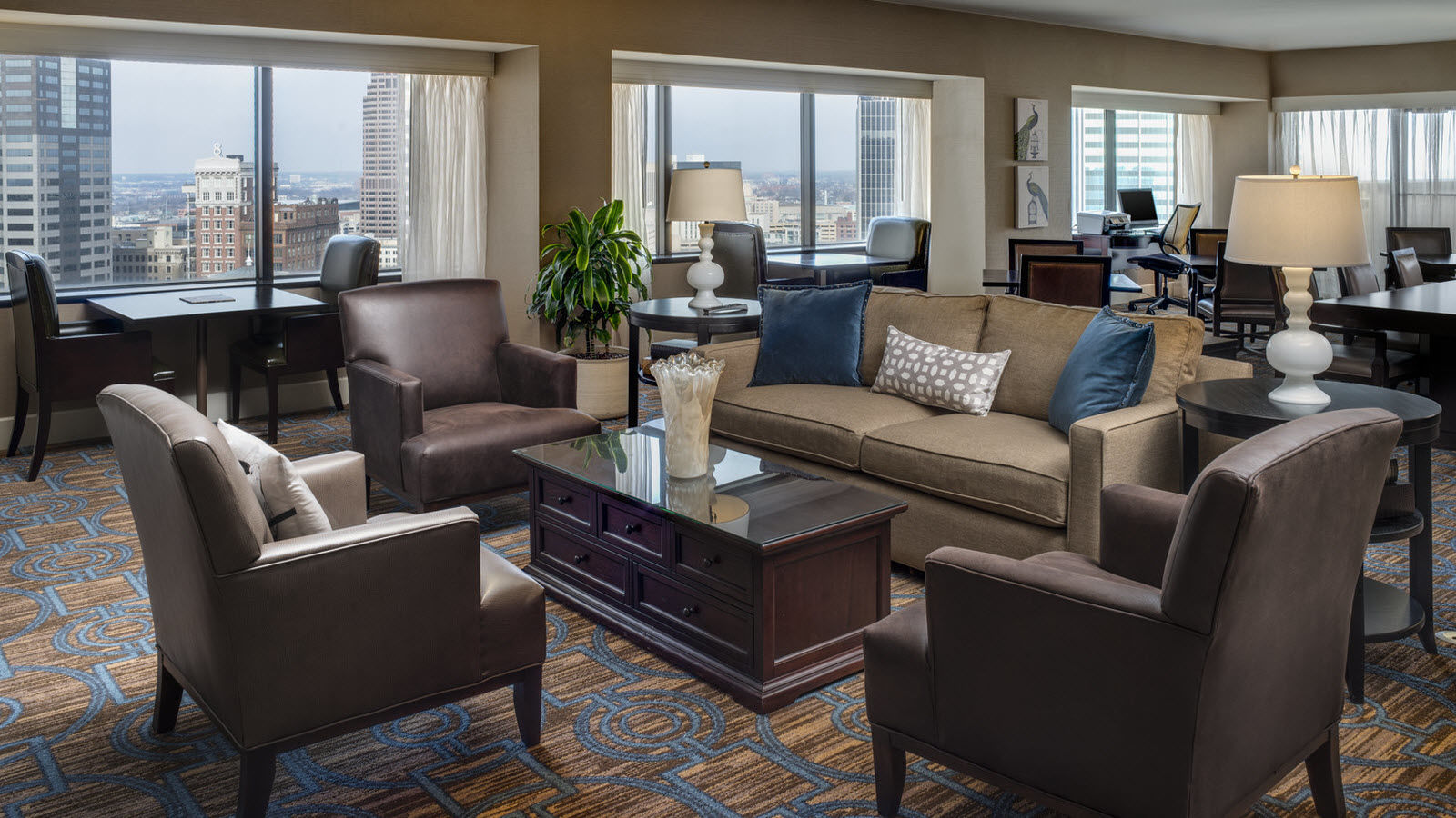 Columbus accommodations - Sheraton Club Level Room