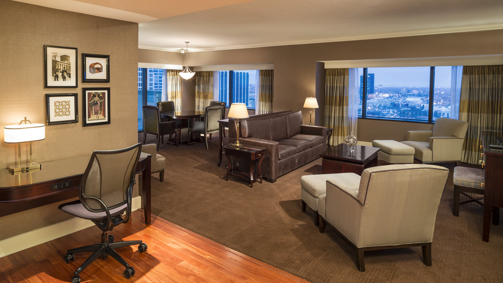 Columbus accommodations - VIP Suite